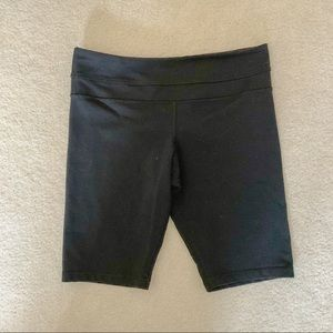 Lululemon Black Biker Shorts 8